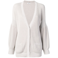 Peserico Buttoned Cardigan - Cinza