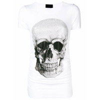 Philipp Plein Camiseta Com Estampa Frontal - Branco