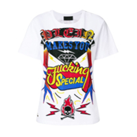 Philipp Plein Camiseta 'i Am A Diva' - Branco
