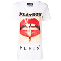 Philipp Plein Camiseta 'playboy' - Branco
