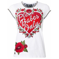 Philipp Plein Camiseta 'sound Of Dreams' - Branco