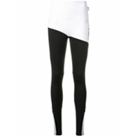 Philipp Plein Jaqueta Esportiva Color Block - Branco