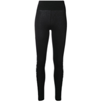 Philipp Plein Legging 'playboy' - Preto