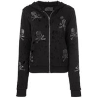 Philipp Plein Moletom Destroyed - Preto