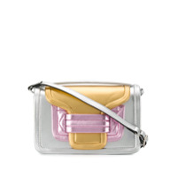 Pierre Hardy Block Colour Shoulder Bag - Prateado