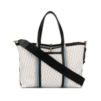 Pierre Hardy Geometric Print Shopper Tote - Branco