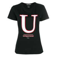 Pinko Camiseta 'uniqueness' - Preto