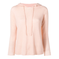 Pinko Hooded Knitted Top - Rosa