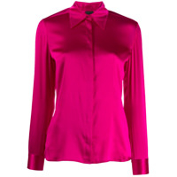 Pinko Pointed Collar Shirt - Rosa