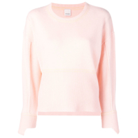 Pinko Round Neck Fitted Sweater - Rosa