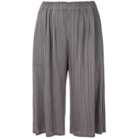 Pleats Please By Issey Miyake Classic Culottes - Cinza