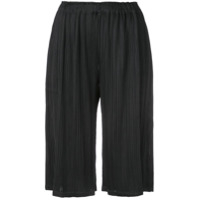 Pleats Please By Issey Miyake Classic Culottes - Preto