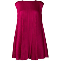 Pleats Please By Issey Miyake Luster Tunic Dress - Rosa