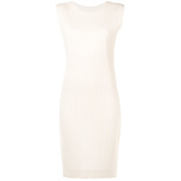 Pleats Please By Issey Miyake Micro Pleated Shift Dress - Neutro