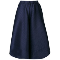 Pleats Please By Issey Miyake Wide-Leg Pleated Trousers - Azul