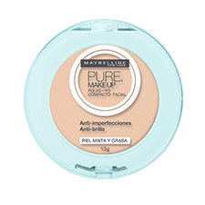 Pó Compacto Pure make Up Natural de Maybelline