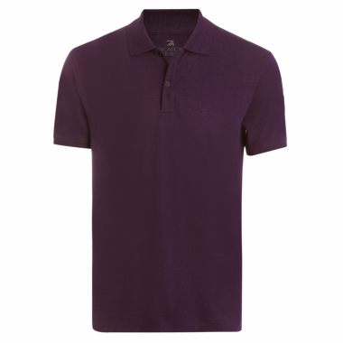 Polo Masculina Lisa Interloque - Roxo