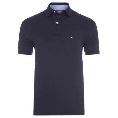 POLO MASCULINA NEW TOMMY KNIT - AZUL
