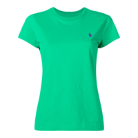 Polo Ralph Lauren Camiseta Com Logo Bordado - Green