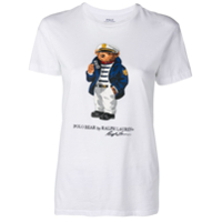 Polo Ralph Lauren Camiseta Com Estampa - Branco