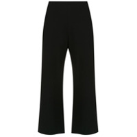 Pop Up Store Calça Cropped Com Fendas - Preto