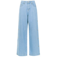 Pop Up Store Calça Jeans Pantalona - Azul