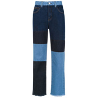 Pop Up Store Calça Jeans Reta - Azul