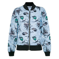 Pop Up Store Jaqueta Bomber De Renda - 0010