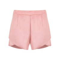 Pop Up Store Short Com Recortes - Rosa