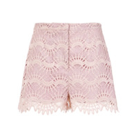 Pop Up Store Short De Renda - 0483