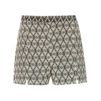 Pop Up Store Short Estampado - Neutro