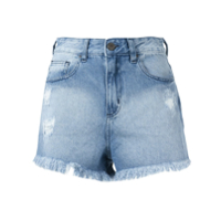 Pop Up Store Short Jeans - Azul