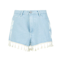 Pop Up Store Short Jeans Com Franjas - 0378
