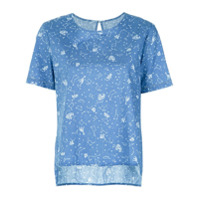 Pop Up Store T-Shirt Estampada - Azul