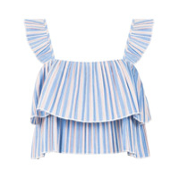 Pop Up Store Top Cropped Listrada - Azul