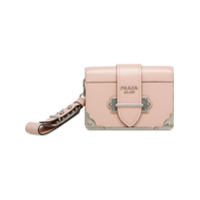 Prada Cahier Clutch Bag - Rosa