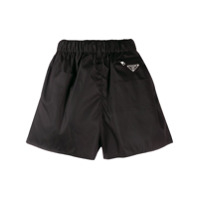 Prada Elasticated Waistband Shorts - Preto