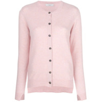 Pringle Of Scotland Cardigan Reto - Rosa