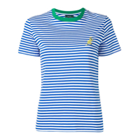 Ps Paul Smith Camiseta Listrada - Azul