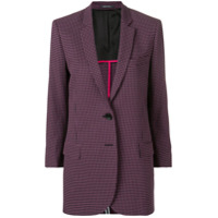 Ps Paul Smith Blazer Xadrez - Rosa