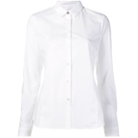Ps Paul Smith Camisa Com Bainha Arredondada - Branco