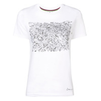 Ps Paul Smith Camiseta Covent Garden Map - Branco