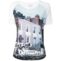 Ps Paul Smith Camiseta 'street' - Azul
