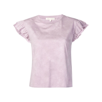 Ps Paul Smith Blusa Mangas Curtas - Rosa