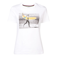 Ps Paul Smith Camiseta Gone Bananas - Branco
