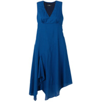 Ps Paul Smith Vestido Casual Xadrez - Azul
