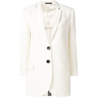 Ps Paul Smith White Formal Blazer - Branco