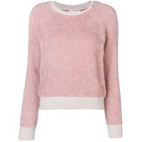 Rag & Bone Brushed Sweater - Rosa