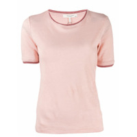 Rag & Bone Camiseta Com Bordado - Rosa