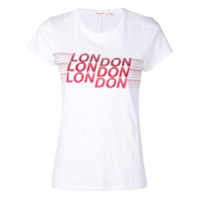 Rag & Bone Camiseta Com Estampa 'london' - Branco
